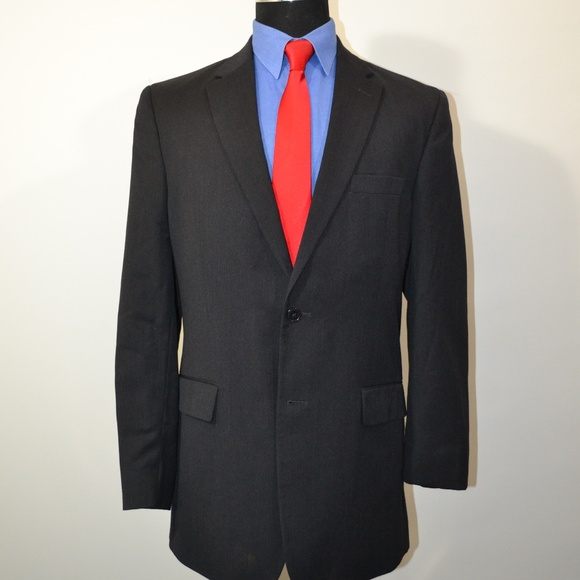 Jos. A. Bank Other - Jos A Bank 41L Sport Coat Blazer Suit Jacket Dark